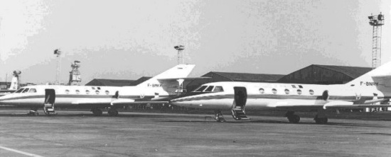 70's Aircraft…Mystère 20 F-BMKK and F-BNRH