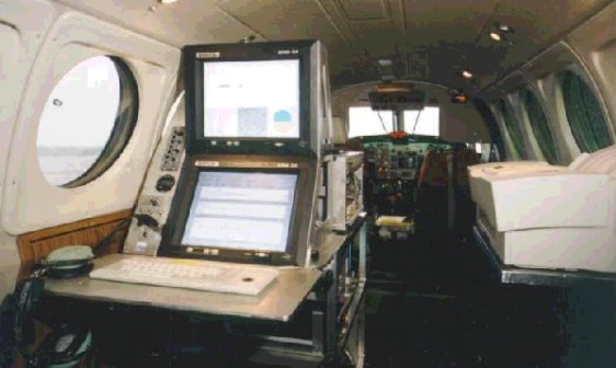 CARNAC 21 new generation Flight Inspection System in the BE 200 F-GJFA